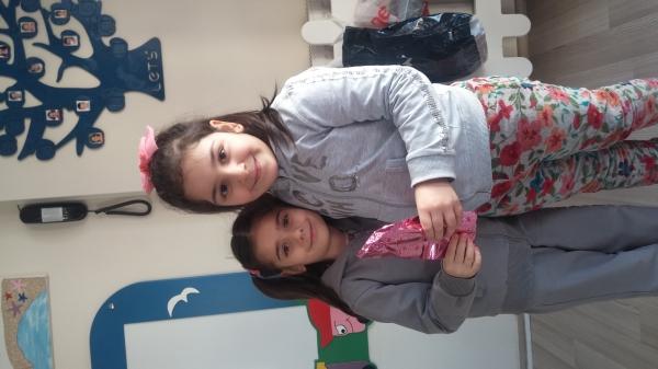 6 D sınıfından Emine Sare'nin paylaşım günü
